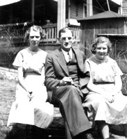 Lois and Jean with their Father